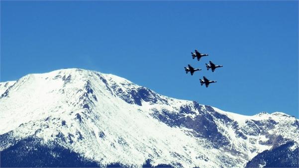 Thunderbirds at Air Force Academy Graduation