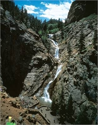 Seven Falls and South Cheyenne Canyon