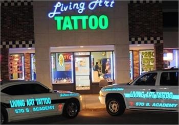 Tattoo and piercings shop in Colorado Springs