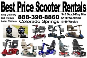 Best Price Scooter Rentals in Colorado Springs