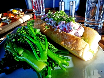 Lobster Roll at Atmosphere Gastropub Colorado Springs