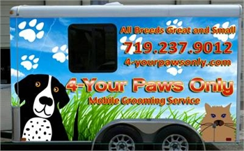 4 Your Paws Only Mobile Grooming