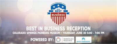 Best in Business Reception