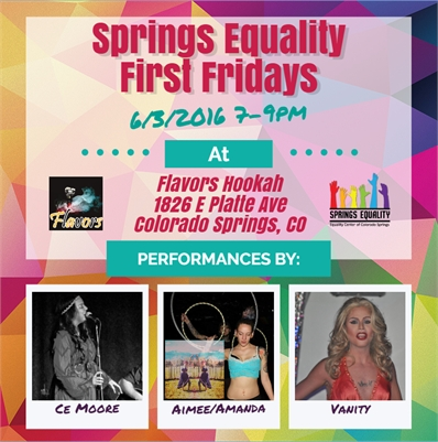 Springs Equality First Friday