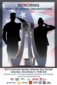 2019 Colorado Springs Veterans Day Parade