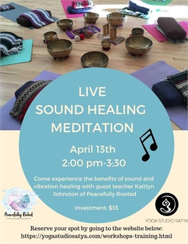 Live Sound Healing Meditation