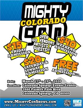 Mighty Con Colorado Comic Con