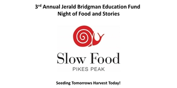 3rd Annual Jerald Bridgman Education Fund Food and Stories Fundraiser