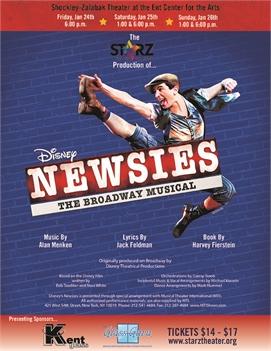 Disney's Newsies by Starz Theater Company
