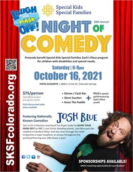 SKSF 10th Annual Night of Comedy featuring JOSH BLUE