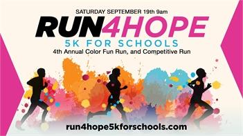 Run4Hope 5k For Schools