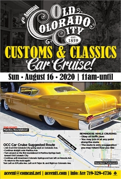 The Old Colorado City Car Show Cruises On!