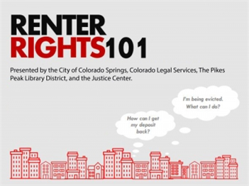 Renter Rights 101 - January Renter Rights Workshop Colorado Springs