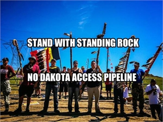 Stand With Standing Rock: COS