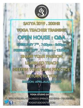 Open House - 200hr Yoga Teacher Training Q&A
