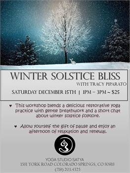 Winter Solstice Bliss