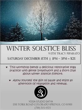 Winter Solstice Bliss