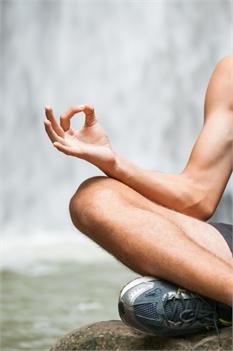 Yoga at Rainbow Falls