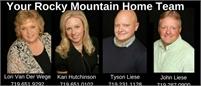 Your Rocky Mountain Home Team Lori Van Der Wege